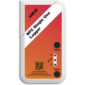 Logic Disposable NFC Temperature Logger For Smartphone